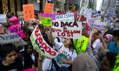 Let's Defend and Broaden DACA! Amnesty and Papers for All! Stop the Raids!