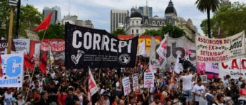 [Argentina] Important demonstration for the freedom and end of persecution to political activists