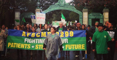 Statement of Solidarity for AFSCME 3299 Strike